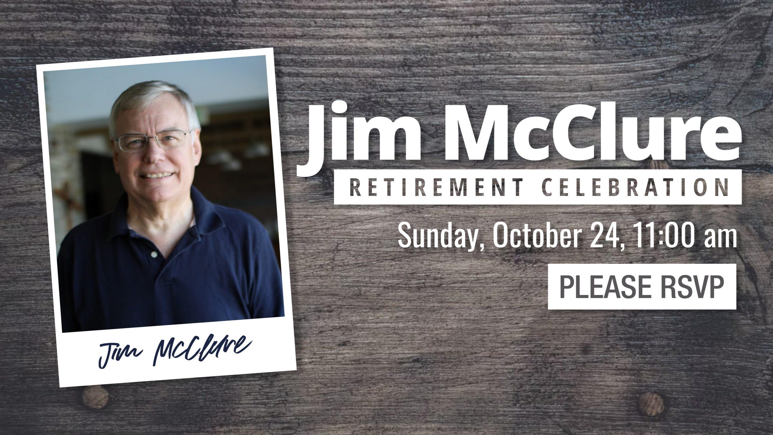 Jim McClure Retirement